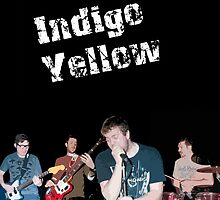 Indigo Yellow iPad Cover - Band by mps2000
