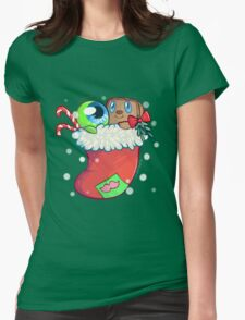 Tim and Sam x-mas! Womens Fitted T-Shirt