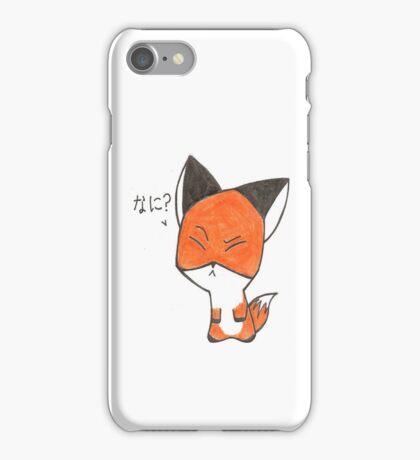 Fox Chibi iPhone Case/Skin