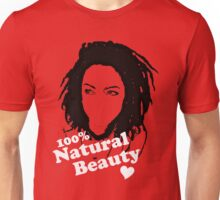 Natural Beauty Red Unisex T-Shirt