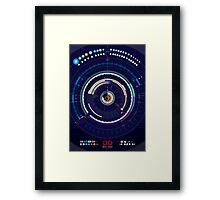 Timeline of the Universe Framed Print