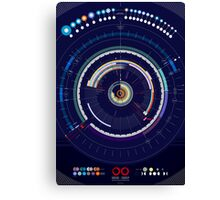 Timeline of the Universe Canvas Print