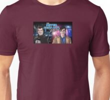 Banner for The Never Gets Old Podcast Unisex T-Shirt