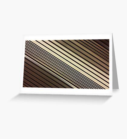 Lumina 6 - Mocha Diagonal Greeting Card