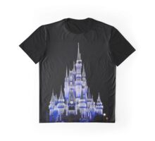 Ice Covered Castle Graphic T-Shirt