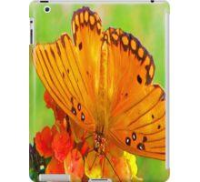 Orange Butterfly iPad Case iPad Case/Skin