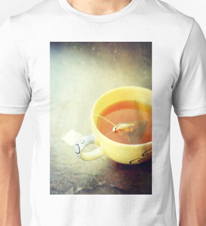 Tea is for Taste and Texture Unisex T-Shirt