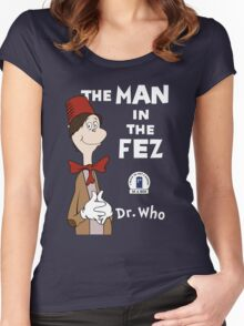 The Man In The Fez Women's Fitted Scoop T-Shirt