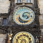 Astronomical Clock by Paula Bielnicka