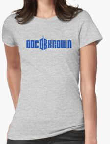 Doc Brown, Time Lord 2 Womens Fitted T-Shirt