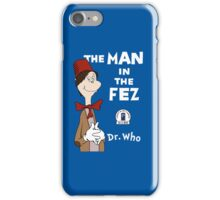 The Man In The Fez iPhone Case/Skin