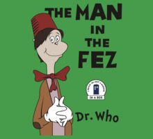 The Man In The Fez Kids Tee