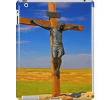 Jesus On The Cross iPad Case iPad Case/Skin