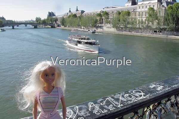 Au Pont des Arts by VeronicaPurple