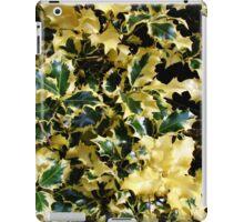 Piebald Holly iPad Case/Skin