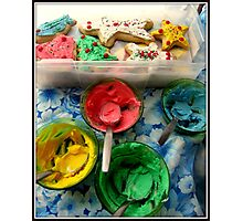 Frosting Photographic Print