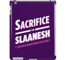 Sacrifice for Slaanesh - Damaged iPad Case/Skin