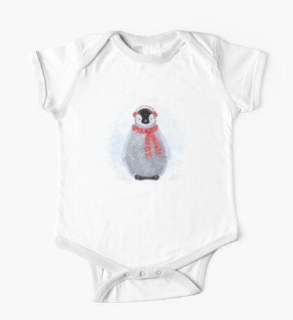 Chilly Little Penguin One Piece - Short Sleeve