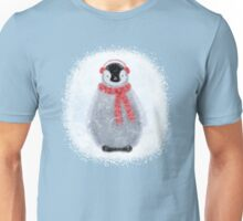 Chilly Little Penguin Unisex T-Shirt
