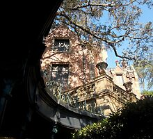 Haunted Mansion from the shadows by DrkSde09