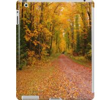 Yellow Fall Drive iPad Case iPad Case/Skin