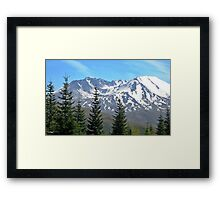 Mount Saint Helens Framed Print