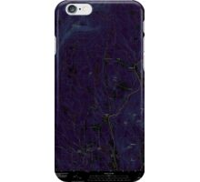 USGS TOPO Map New Hampshire NH Grantham 20120709 TM Inverted iPhone Case/Skin