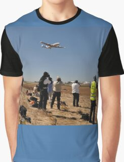 Photographing Connie, Avalon Airshow, Victoria, Australia 2013 Graphic T-Shirt