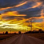 Reno County at Sundown by kgarlowpiper