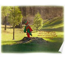 The Elf in the Field Poster