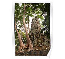 Ancient Angkor - Preah Palilay Poster