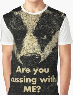 Arguing with a Badger Graphic T-Shirt