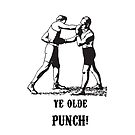 Ye Olde Punch (iPhone Case) by onehappycamper