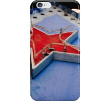 Star on a Vintage Neon Sign iPhone Case/Skin