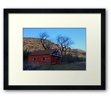 Base of the Mountain Ranch #2 Framed Print
