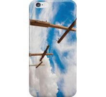 Crosses Stand in the Desert  iPhone Case/Skin