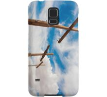 Crosses Stand in the Desert  Samsung Galaxy Case/Skin