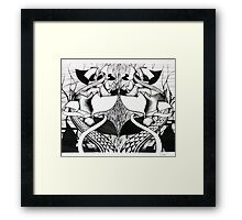 Above An Abyss. Framed Print