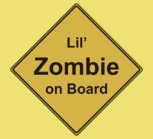 Lil' Zombie On Board Kids Clothes