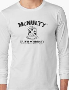McNulty Irish Whiskey (1 Color 2) Long Sleeve T-Shirt