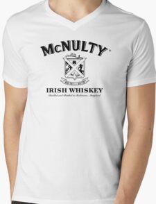 McNulty Irish Whiskey (1 Color 2) Mens V-Neck T-Shirt