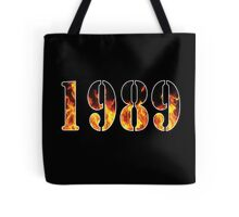 1989 Fire Tote Bag