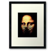 monalisa inmolatio Framed Print