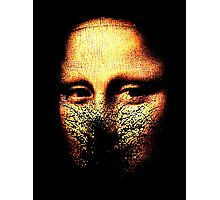 monalisa inmolatio Photographic Print