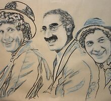 the marx brothers by Peter Brandt
