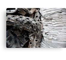 Old Air Filters Canvas Print