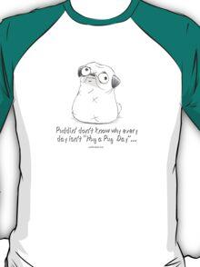 Hug a Pug Day T-Shirt