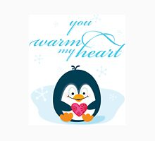 "PENGUIN ""you warm my heart"" Unisex T-Shirt"