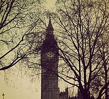 Big Ben Yet Again by Alfie George Tobutt