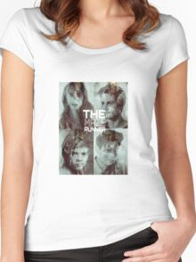 the maze runner the scorch trials Women's Fitted Scoop T-Shirt